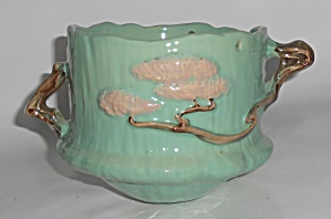 Roseville Art Pottery Ming Tree Hanging Planter