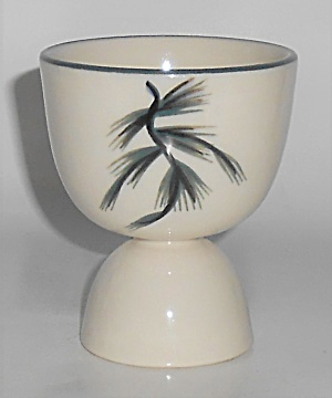 Winfield China Pottery Blue Spruce Eggcup