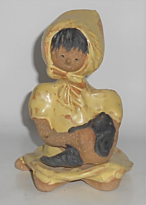 Metlox Pottery Poppy Trail Artware #159 Nancy Poppet (Image1)