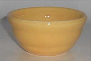 Bauer Pottery Gloss Pastel Kitchenware Yellow Ramekin