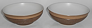 Denby Pottery Stoneware Cotswold Pair Cereal Bowls