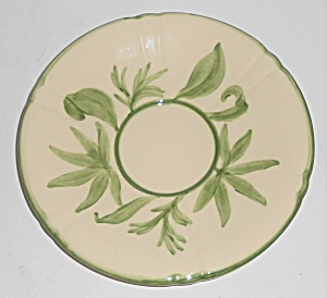 Franciscan Pottery Wildflower Saucer