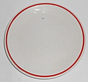 Franciscan Pottery Experimental Glaze Bread Plate
