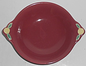Coors Pottery Rosebud Red Cereal/oatmeal Bowl