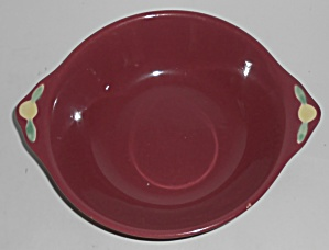 Coors Pottery Rosebud Red Vegetable Bowl #2