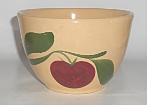 Vintage Watt Pottery Apple #63 Deep Mixing Bowl