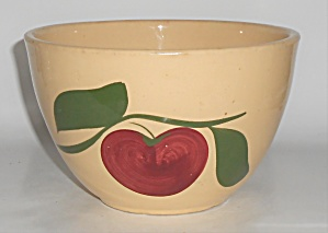 Vintage Watt Pottery Apple #64 Deep Mixing Bowl