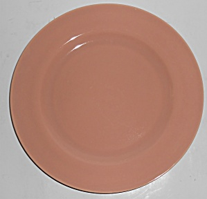 Franciscan Pottery El Patio Gloss Coral Lunch Plate