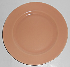 Franciscan Pottery El Patio Satin Coral Salad Plate (Image1)
