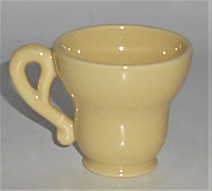 Franciscan Pottery El Patio Gloss Yellow Demitasse Cup