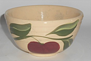 Vintage Watt Pottery Apple #5 Nappy