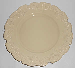 Franciscan Pottery Victoria Ivory Dinner Plate