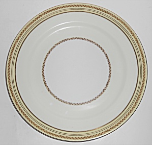 Noritake Porcelain China Caliban W/gold Dinner Plate