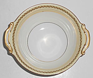 Noritake Porcelain China Caliban W/gold Tab Cereal Bowl