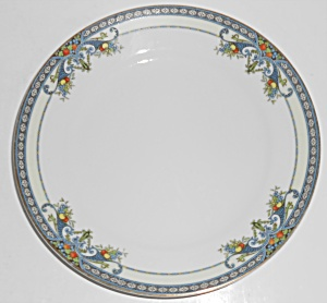 Noritake Porcelain China Winona W/gold Salad Plate