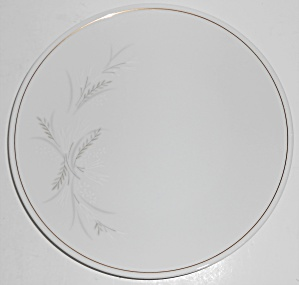 Noritake Porcelain China Windrift W/gold Salad Plate