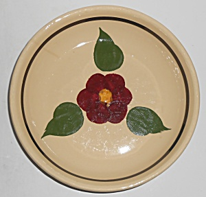 Watt Pottery Rio Rose R-f Spaghetti Bowl