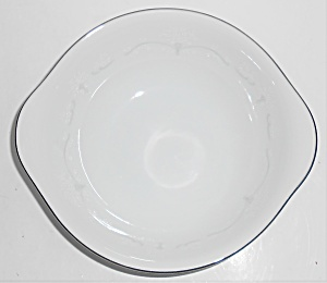 Noritake China Whitebrook Platinum Band Cereal Bowl