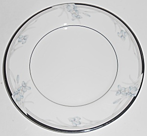Oscar De La Renta China Vintage Blue Platinum Bread Pla