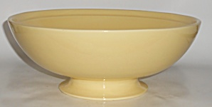 Franciscan Pottery Montecito Gloss Yellow Salad Bowl