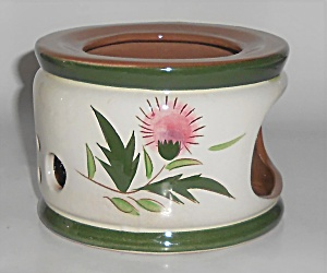 Stangl Pottery Thistle Candle Warmer Stand