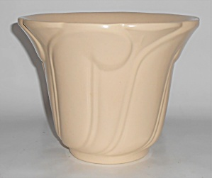 Bauer Pottery Cal-art Ivory Jardiniere