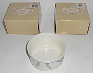 Mikasa China Santa Fe Individual Soufle Bowl W/box