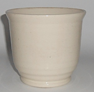 Bauer Pottery Ring Ware Hi Fire White Beating Bowl