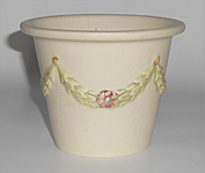 Weller Art Pottery Floral Decorated Roma Flower Pot
