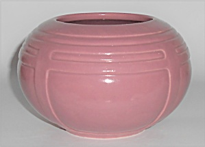 Roseville Art Pottery #236-4'' Matte Rose Vase (Image1)