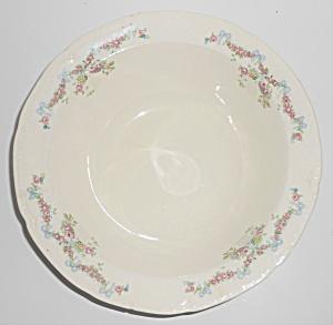 Early Poxon Vernon Pottery Basket W/Floral Garland Veg (Image1)
