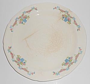 Early Poxon Vernon Pottery Basket w/Floral Garland Dinn (Image1)
