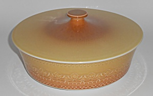 Syracuse China Calypso Largo Covered Vegetable / Casser