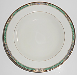 Mikasa Fine China Emerald Suite L3217 W/gold Rimmed Sou