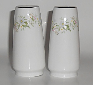Johann Haviland Porcelain Forever Spring Salt & Pepper