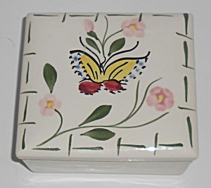 Blue Ridge China Southern Potteries Butterfly Box