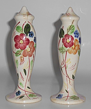 Blue Ridge China Southern Potteries Rose Of Sharon Salt