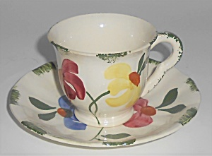 Blue Ridge China Southern Potteries Painted Daisy Demi