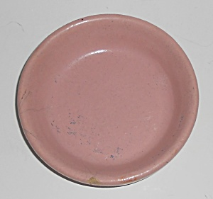 Garden City Pottery Pink Flower Pot Saucer