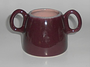 Early Winfield Gabriel China Pottery Purple / Pink Demi