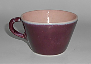 Early Winfield Gabriel China Pottery Purple / Pink Cup
