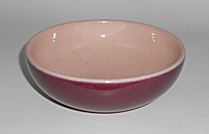 Early Winfield Gabriel China Pottery Purple / Pink Cer