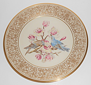 Lenox China Boehm 1972 Mountain Bluebird Plate