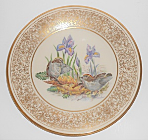 Lenox China Boehm 1979 Golden-crowned Kinglets Plate
