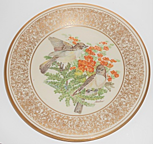 Lenox China Boehm 1981 Eastern Phoebe Plate
