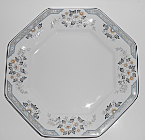 Mikasa Fine China Platinum Band Dana Chop Plate