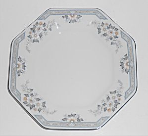 Mikasa Fine China Platinum Band Dana Bread Plate