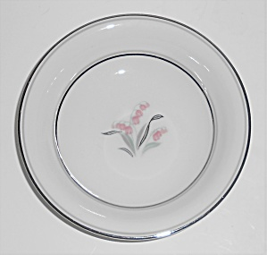Noritake Porcelain China Crest W/platinum Fruit Bowl
