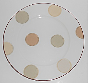 Noritake China Porcelain Ambience Mocha Java Dinner Pla