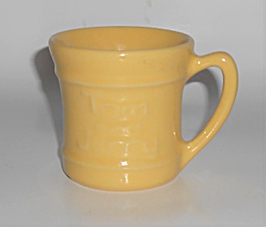 Pacific Pottery Hostess Ware Yellow Tom & Jerry Mug